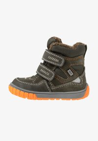 Lurchi - JAUFEN TEX - Winter boots - dark olive - 0