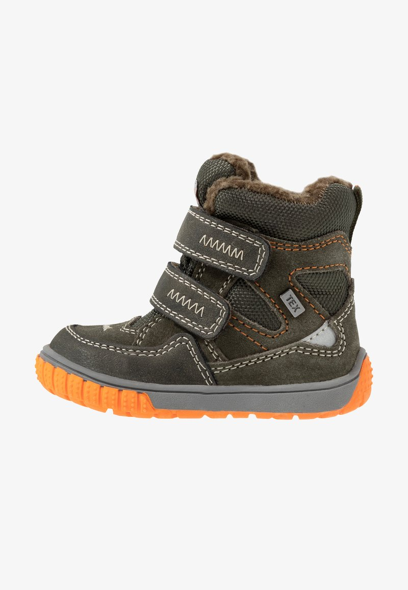Lurchi - JAUFEN TEX - Winter boots - dark olive