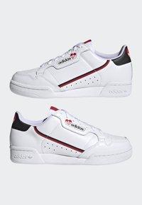 adidas Originals - CONTINENTAL 80 - Trainers - footwear white/core black/scarlet - 7