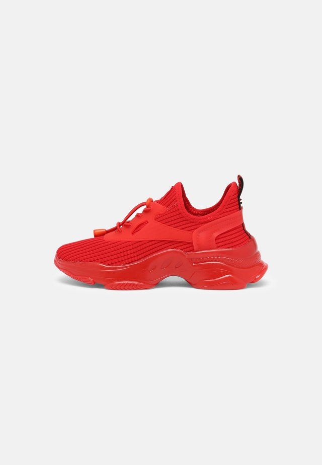 MATCH K - Sneakers laag - red