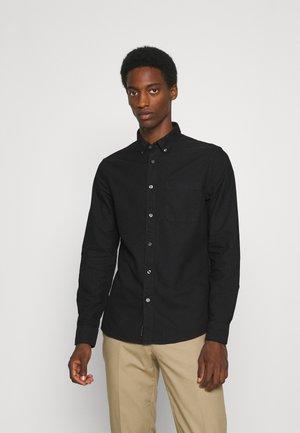 OXFORD SLIM - Zakelijk overhemd - black