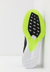 adidas Performance - ADIZERO BOUNCE SPORTS RUNNING SHOES - Zapatillas de competición - core black/signal green - 4