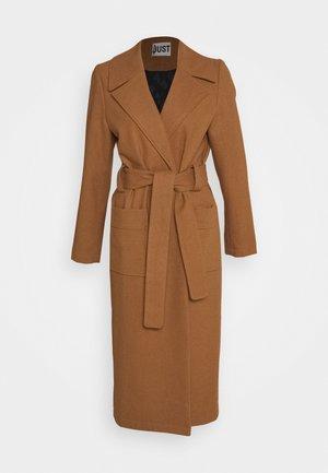 LEOLA COAT - Płaszcz wełniany /Płaszcz klasyczny - walnut