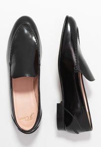 J.CREW - NO TAB ACADEMY LOAFER - Instappers - black - 3