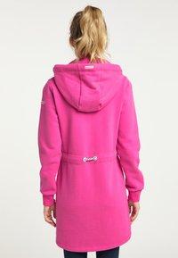Schmuddelwedda - Mikina na zip - pink - 2
