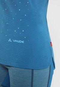 Vaude - TEKOA - T-shirt con stampa - kingfisher - 5