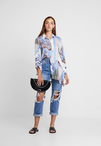 River Island - Button-down blouse - blue - 1