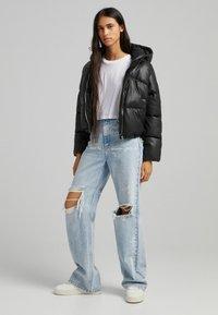 Bershka - Light jacket - black - 1