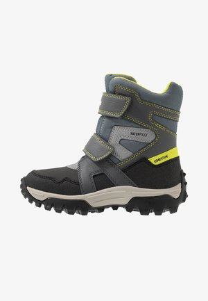HIMALAYA BOY  - Winter boots - grey/lime