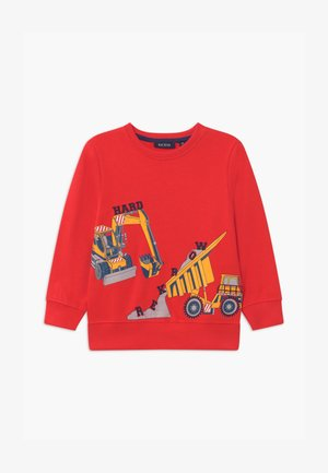 SMALL BOYS FIRETRUCK - Sweatshirt - tomate
