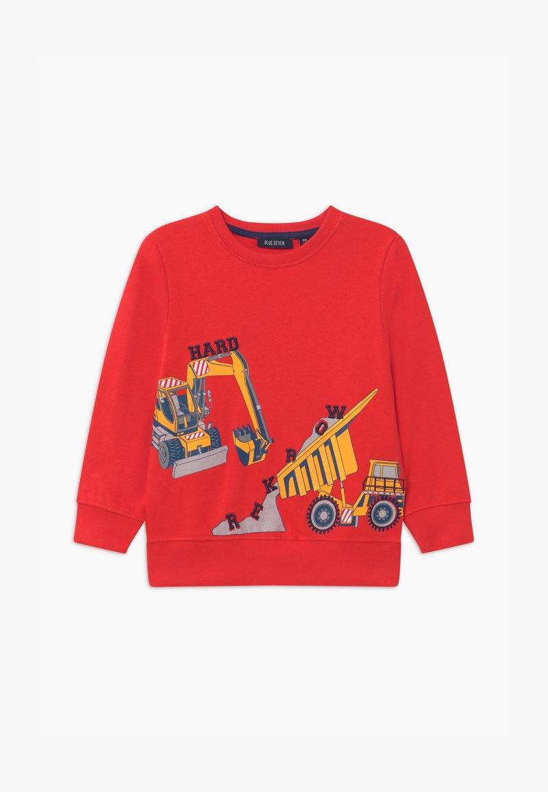 Blue Seven - SMALL BOYS FIRETRUCK - Sweater - tomate