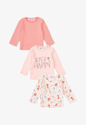 3 PACK - Sweatshirt - pink/white