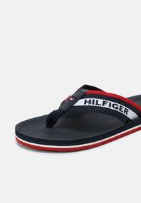 Tommy Hilfiger - SPORTY MOLDED  - T-bar sandals - desert sky - 6