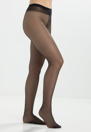 Matt Deluxe Transparent - Tights - black