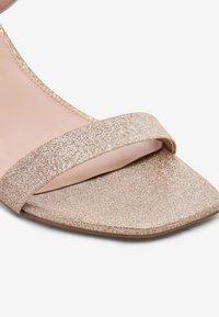 Next - High heeled sandals - gold - 3