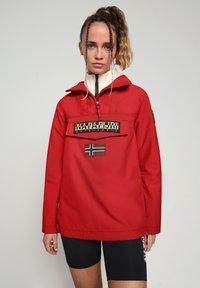 Napapijri - RAINFOREST SUMMER - Winter jacket - old red - 0