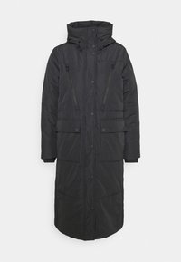 TOM TAILOR DENIM - PADDED LONG COAT - Winter coat - deep black - 5