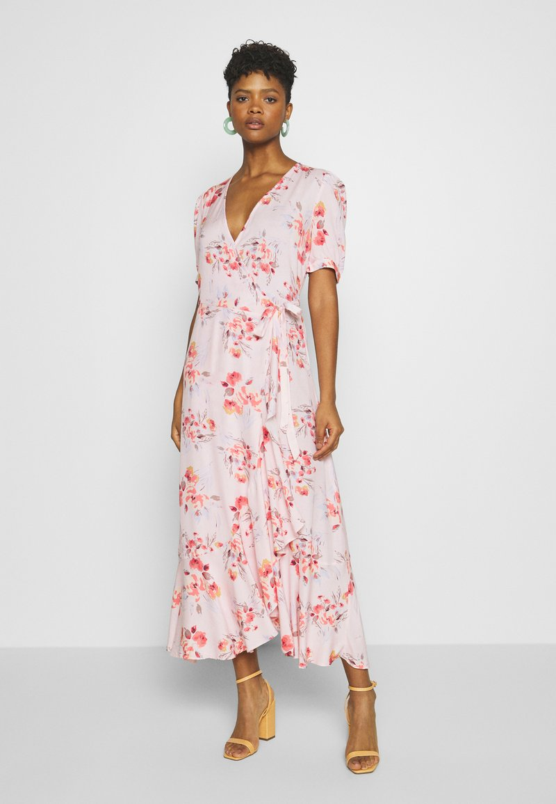 YAS - YASSINA ANKLE WRAP DRESS - Maxi dress - pale lilac
