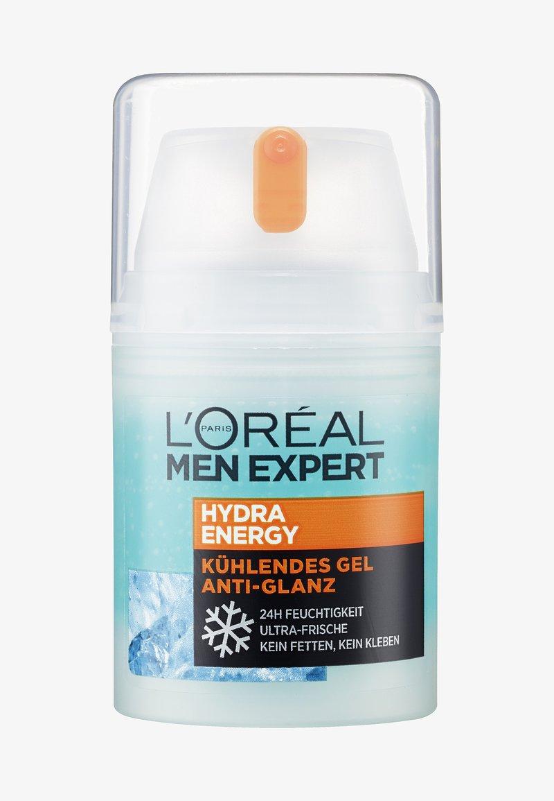 L'Oréal Men Expert - HYDRA ENERGY COOLING MOISTURIZING ANTI-GLARE 50ML - Face cream - -