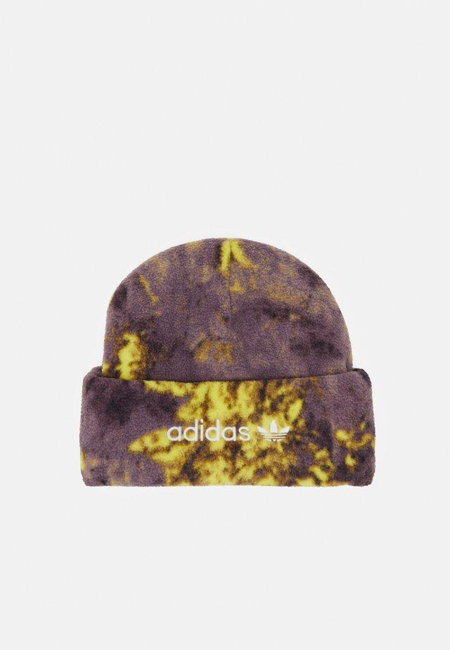 BEANIE UNISEX - Beanie - yellow/purple