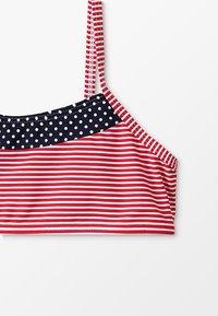 s.Oliver - BUSTIER SET - Bikini - navy/red - 2