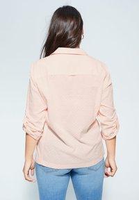 Violeta by Mango - PLANAF6 - Button-down blouse - nude - 2