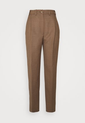 LUCAS - Trousers - brown