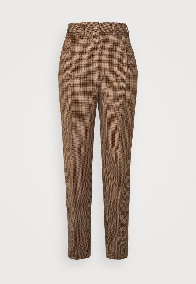 LUCAS - Pantalon classique - brown