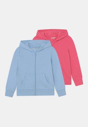 KID HOODED ZIP 2 PACK - Zip-up sweatshirt - pink lemonad/airy blue