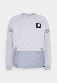 G-Star - PRISONER MIX R SW L\S - Sweatshirt - ashor grey htr - 4