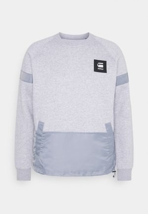 PRISONER MIX R SW L\S - Sweatshirt - ashor grey htr