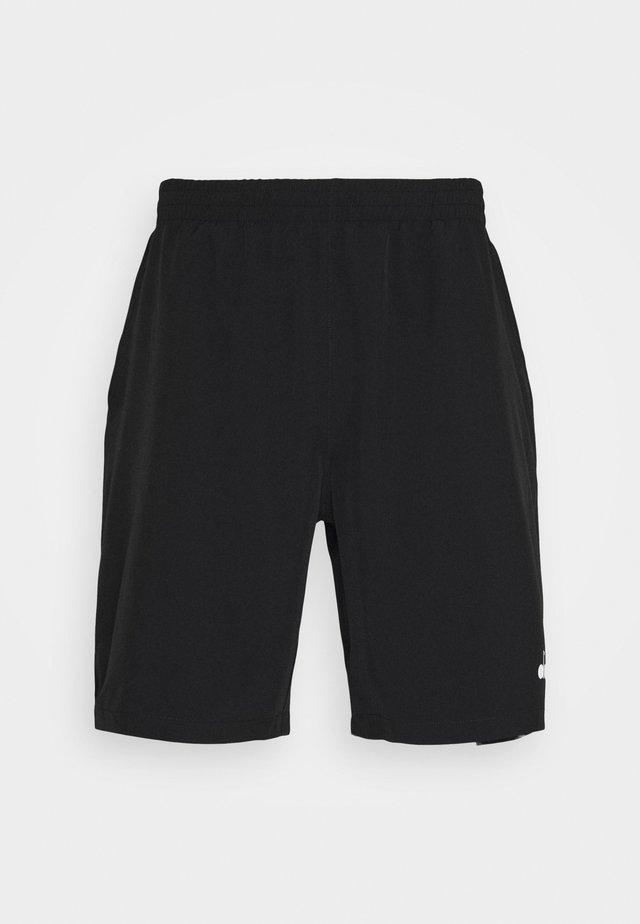 BERMUDA EASY TENNIS - Korte broeken - black