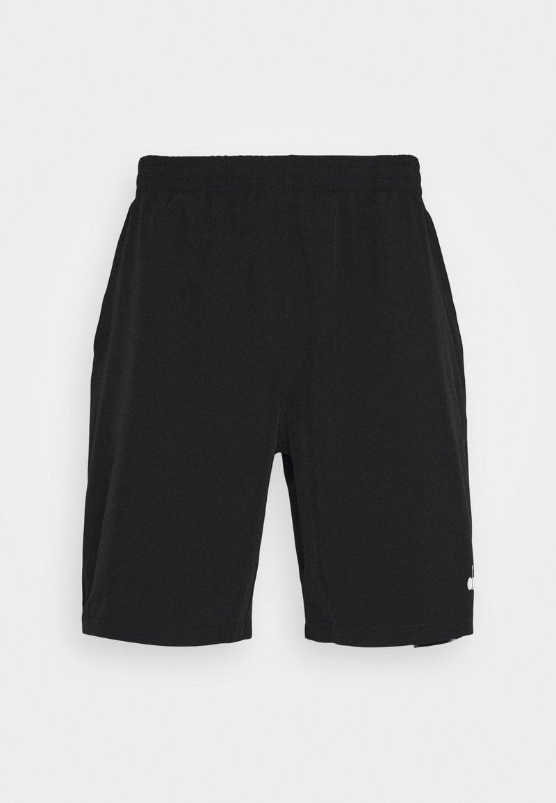 Diadora - BERMUDA EASY TENNIS - Pantaloncini sportivi - black
