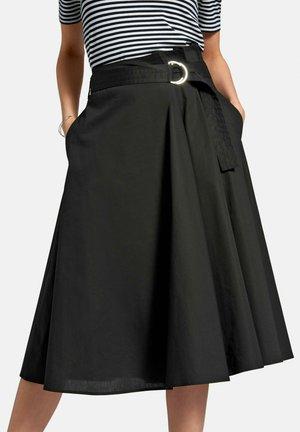 ROCK ROCK - A-line skirt - schwarz