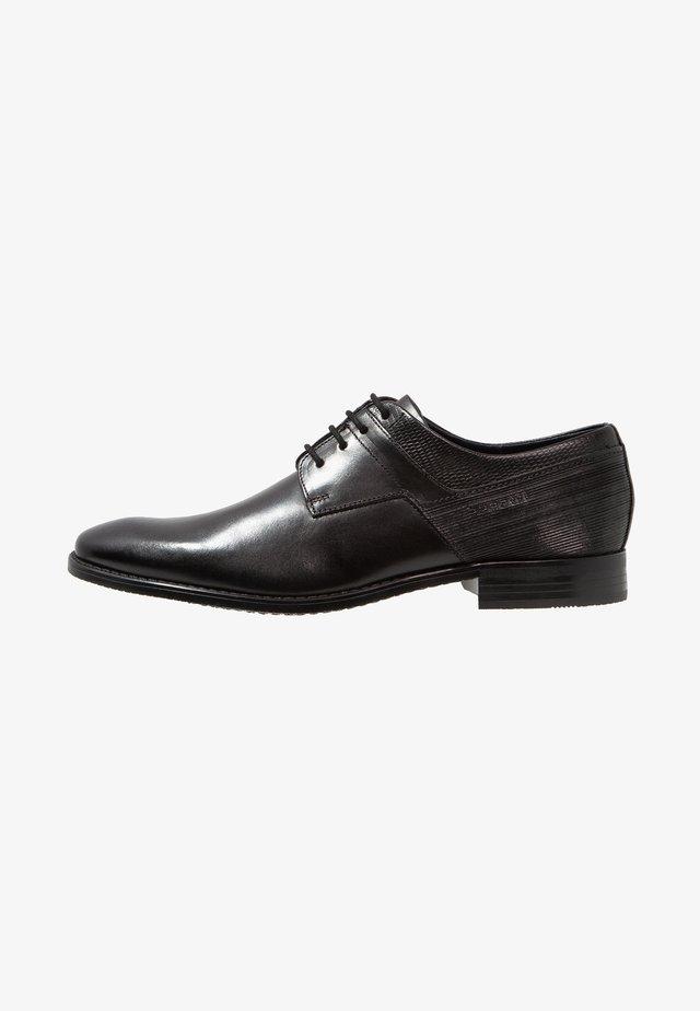 RINALDO - Smart lace-ups - black