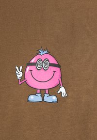 Weekday - OVERSIZED PRINTED - T-shirts print - brown - 5
