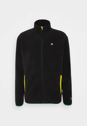 FULL ZIP - Giacca in pile - black