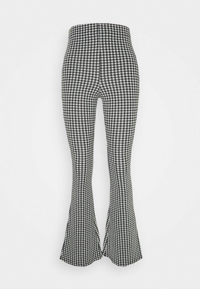 GINGHAM  - Pantalon classique - mono