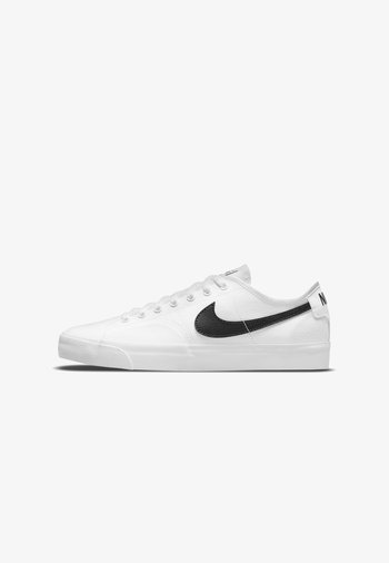 Sneakers - white/white/black/black