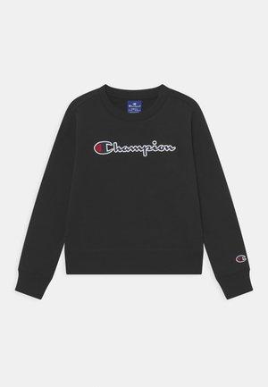 LOGO CREWNECK UNISEX - Sweater - black