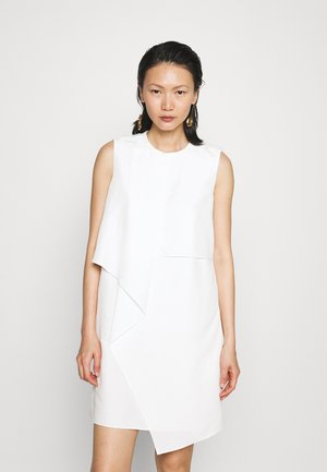 DRAPE FRONT DRESS - Cocktail dress / Party dress - cream
