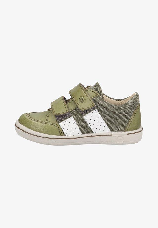 Chaussures à scratch - leaf/oliv 563
