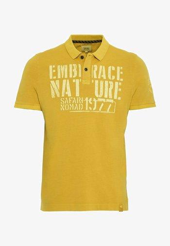 SHORT SLEEVE - Polo shirt - gold
