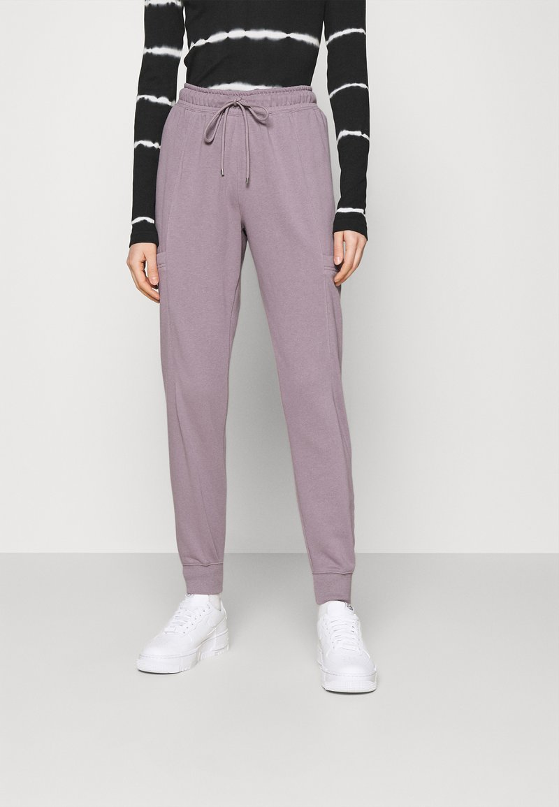 Nike Sportswear - AIR PANT - Tracksuit bottoms - purple smoke/white