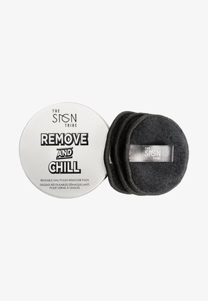 REMOVE AND CHILL REUSABLE REMOVER PADS - Akcesoria do makijażu - black