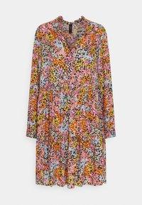 YAS - YASTAPETIA DRESS  - Denní šaty - super lemon/multi - 4