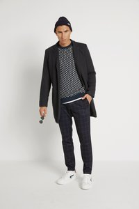 Only & Sons - ONSMARK PANT CHECK - Pantalon classique - dark navy - 1