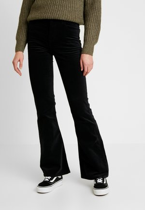 BREESE - Trousers - black