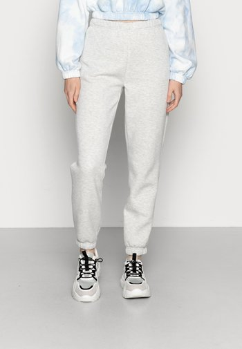 BASIC SWEATPANTS - Pantaloni sportivi - light grey melange