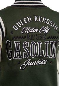Queen Kerosin - GASOLINE JUNKIES - Light jacket - olivgrün - 3